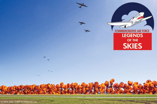 COMMEMORATIVE AIR FORCE TO HOST LEGENDS OF THE SKIES AWARDS LUNCHEON