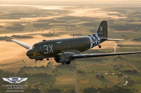 Commemorative Air Force D Day Mission to Europe 2019 | Daks